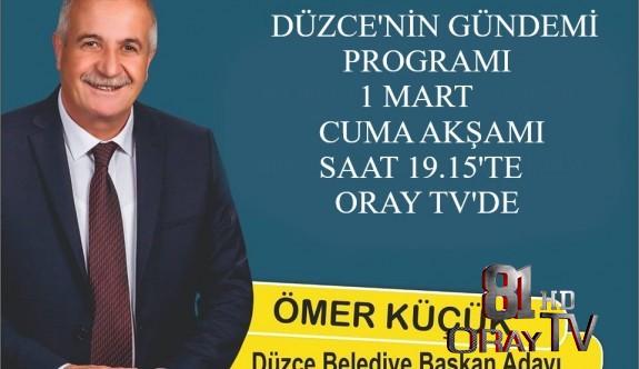 İYİ PARTİ VE CHP ORTAK ADAYI ÖMER KÜÇÜK ORAY TV'YE KONUK OLUYOR