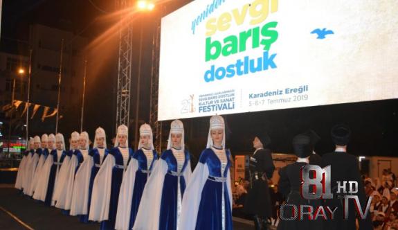EREĞLİ'DE FESTİVAL COŞKUSU