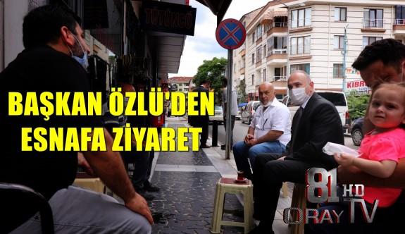 BAŞKAN ÖZLÜ'DEN ESNAFA SABIR VE ÖZVERİ TEŞEKKÜRÜ
