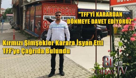 """EMİR KİRAZOĞLU, """"TFF'Yİ BU KARARDAN DÖNMEYE DAVET EDİYORUZ"""""""
