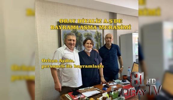 ORAY DİYALİZ A.Ş'DE BAYRAMLAŞMA TÖRENİ...
