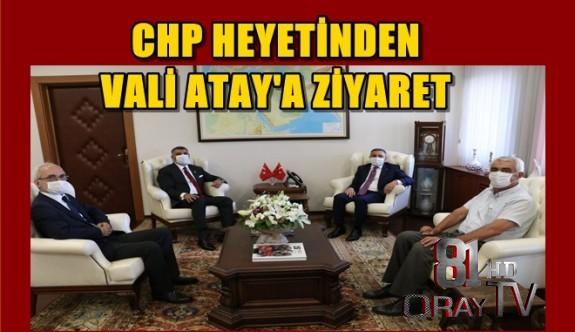 VALİ CEVDET ATAY'A ZİYARET...