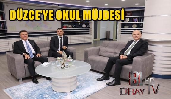 DÜZCE'YE OKUL MÜJDESİ