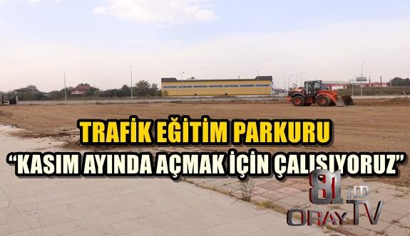 TRAFİK EĞİTİM PARKURU