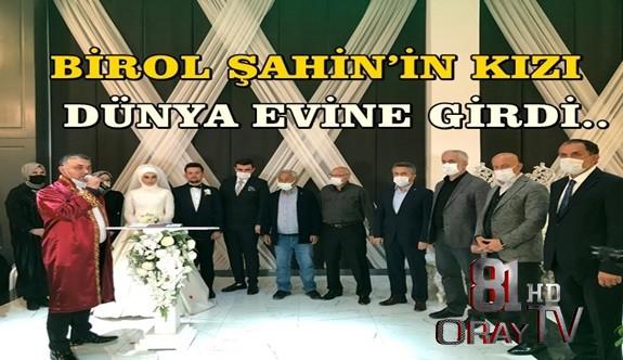 BİROL ŞAHİN'İN KIZI DÜNYA EVİNE GİRDİ..