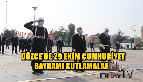 DÜZCE'DE 29 EKİM CUMHURİYET BAYRAMI KUTLAMALARI