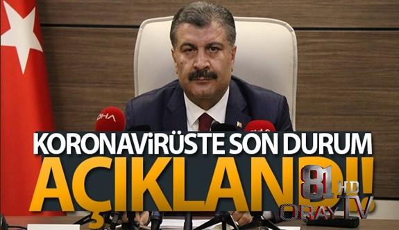 TÜRKİYE'DE SON 24 SAATTE 19.256 KORONAVİRÜS VAKASI TESPİT EDİLDİ