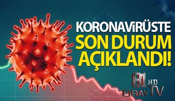 TÜRKİYE'DE SON 24 SAATTE 7.706 KORONAVİRÜS VAKASI TESPİT EDİLDİ