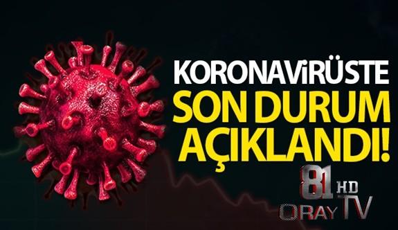TÜRKİYE'DE SON 24 SAATTE 7.909 KORONAVİRÜS VAKASI TESPİT EDİLDİ