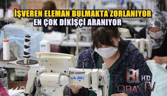DÜZCE'DE 404 AÇIK İŞ BAŞVURUSU BULUNUYOR