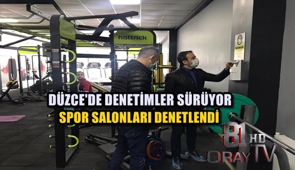 SPOR SALONLARINA DENETİM SÜRÜYOR
