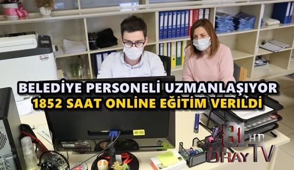 MASABAŞI PERSONEL DE EĞİTİM ALIYOR