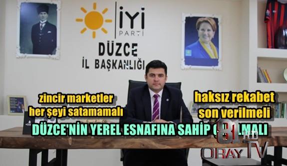 YEREL ESNAFA SAHİP ÇIKILMALI !!