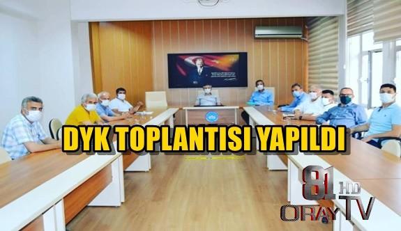 DYK TOPLANTISI YAPILDI