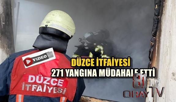 271 YANGINA MÜDAHALE ETTİ