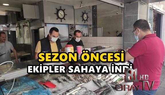 SEZON ÖNCESİ EKİPLER SAHAYA İNDİ
