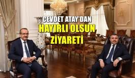 VALİ ATAY'DAN KOCAELİ VALİLİĞİ'NE ZİYARET