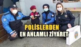 POLİSLERDEN EN ANLAMLI ZİYARET