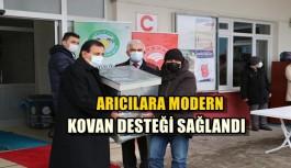 ARICILARA MODERN KOVAN DESTEĞİ SAĞLANDI