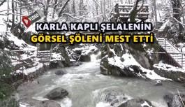SAMANDERE ŞELALESİ'NİN EŞSİZ MANZARASI HAVADAN GÖRÜNTÜLENDİ