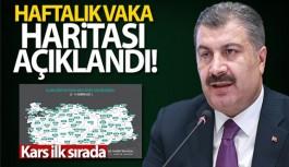 HAFTALIK VAKA HARİTASI AÇIKLANDI!