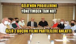ÖZLÜ, PARTİ YÖNETİMİNE SUNUM YAPTI