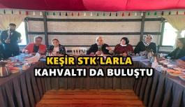 KEŞİR STK'LARLA KAHVALTI DA BULUŞTU