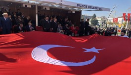 CUMHURİYET BAYRAMI DÜZCE'DE COŞKUYLA KUTLANDI