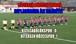 BİTEXSEN DÜZCESPOR'DAN DEPLASMANDA İLK...
