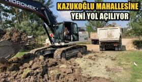 YENİ YOL AÇILIYOR