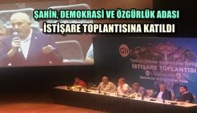 İSTİŞARE TOPLANTISINA KATILDI
