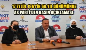 AK PARTİ BASIN TOPLANTISI