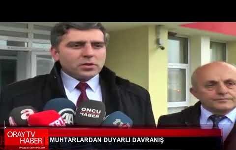 24 OCAK 2018 ORAY TV HABER BÜLTENİ