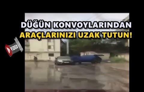 PARK HALİNDE Kİ ARACA ÇARPTI